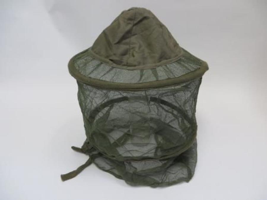 Rare WW2 Far East Mosquito Helmet Net