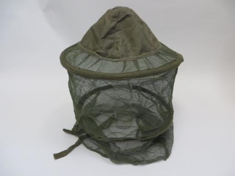 Rare WW2 Far East Mosquito Helmet Net