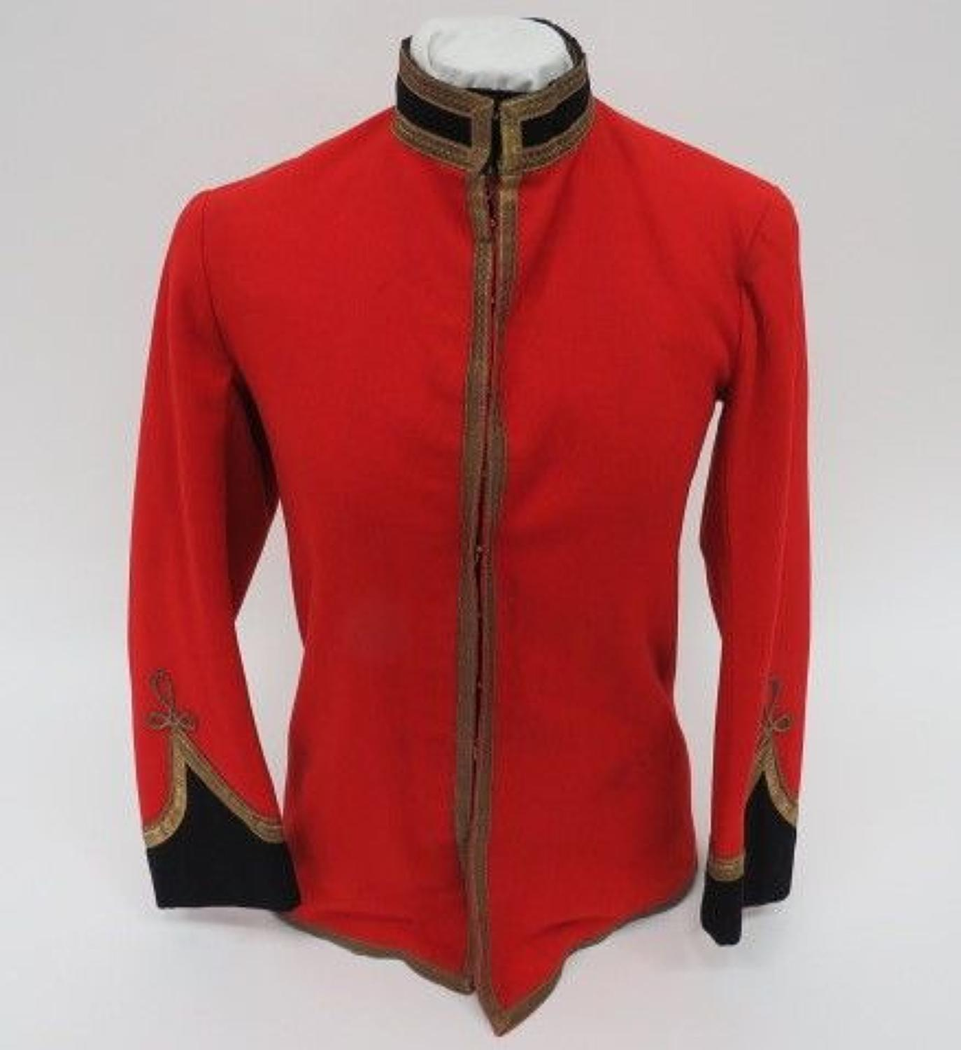 Pre WW 1 Military Muscians Scarlet Full Dress Tunic