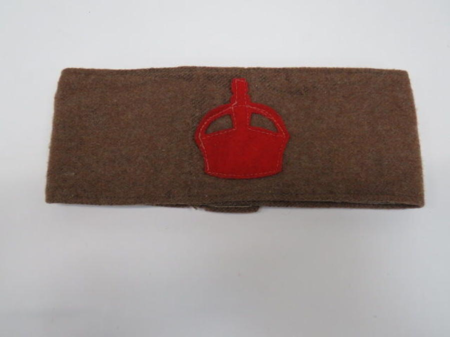 Lord Derby Scheme Volunteers Armband