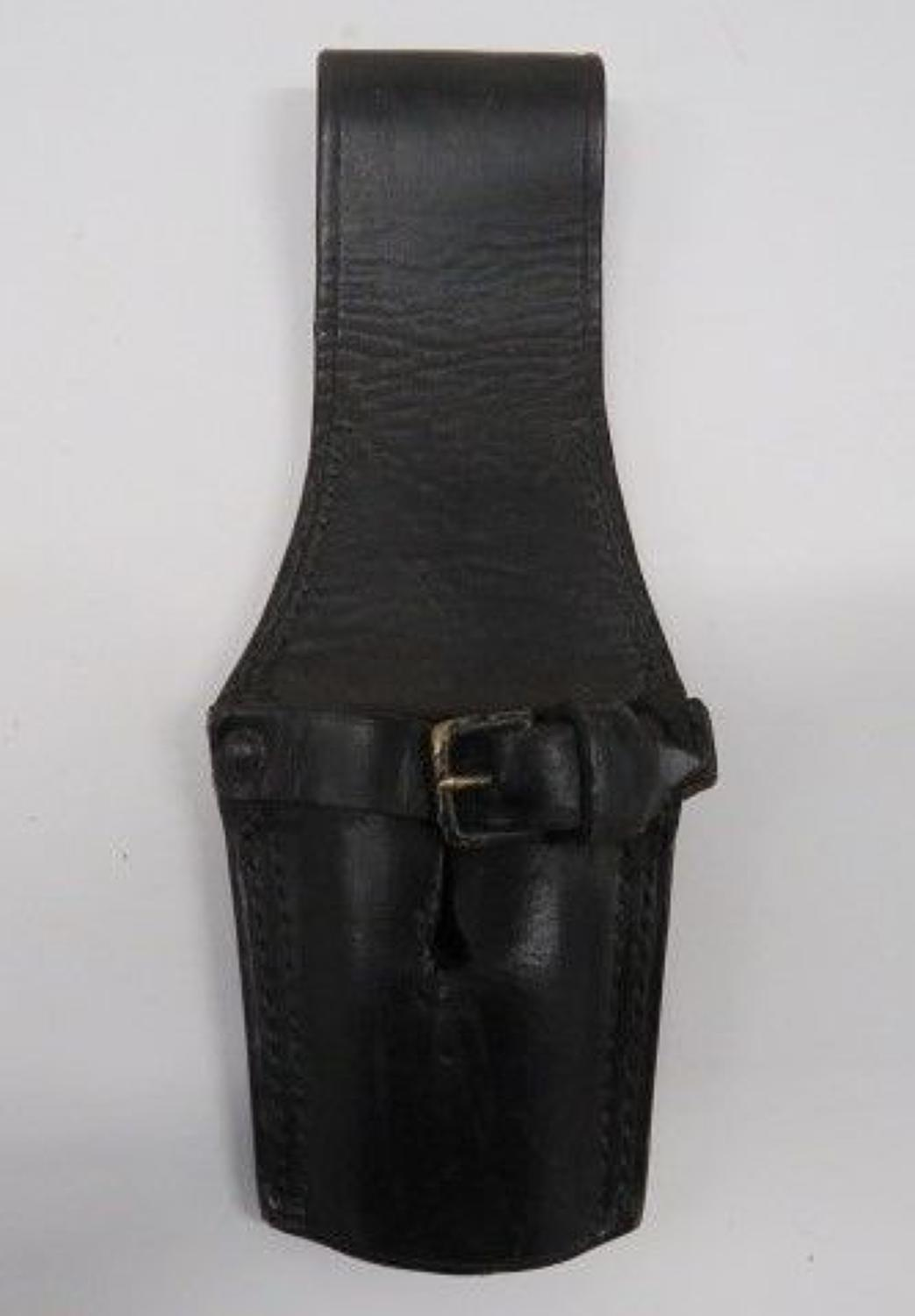 Victorian Black Leather Bayonet Frog