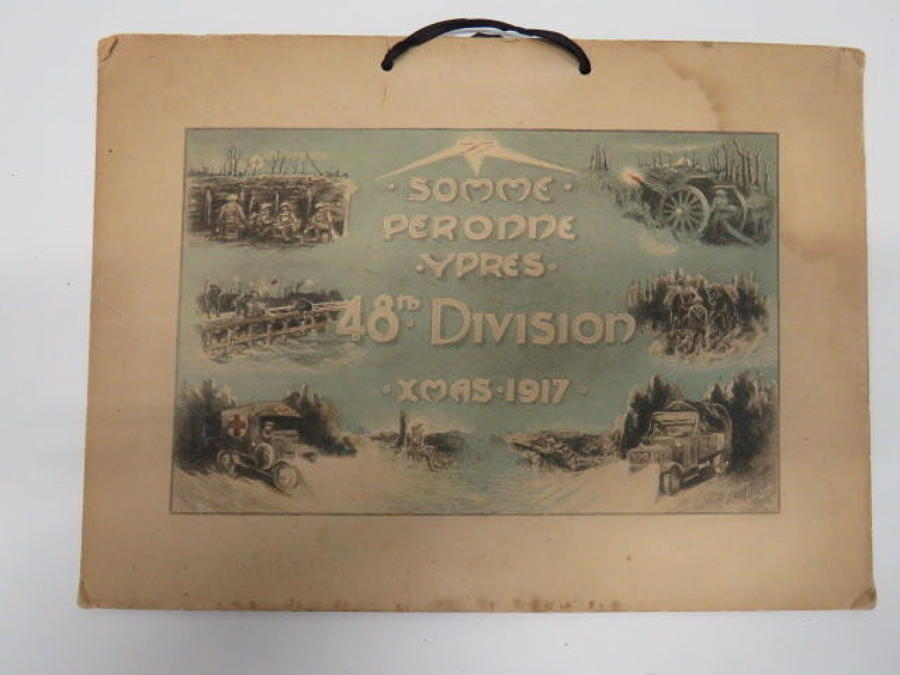 48th Division Christmas Backing for Calendar