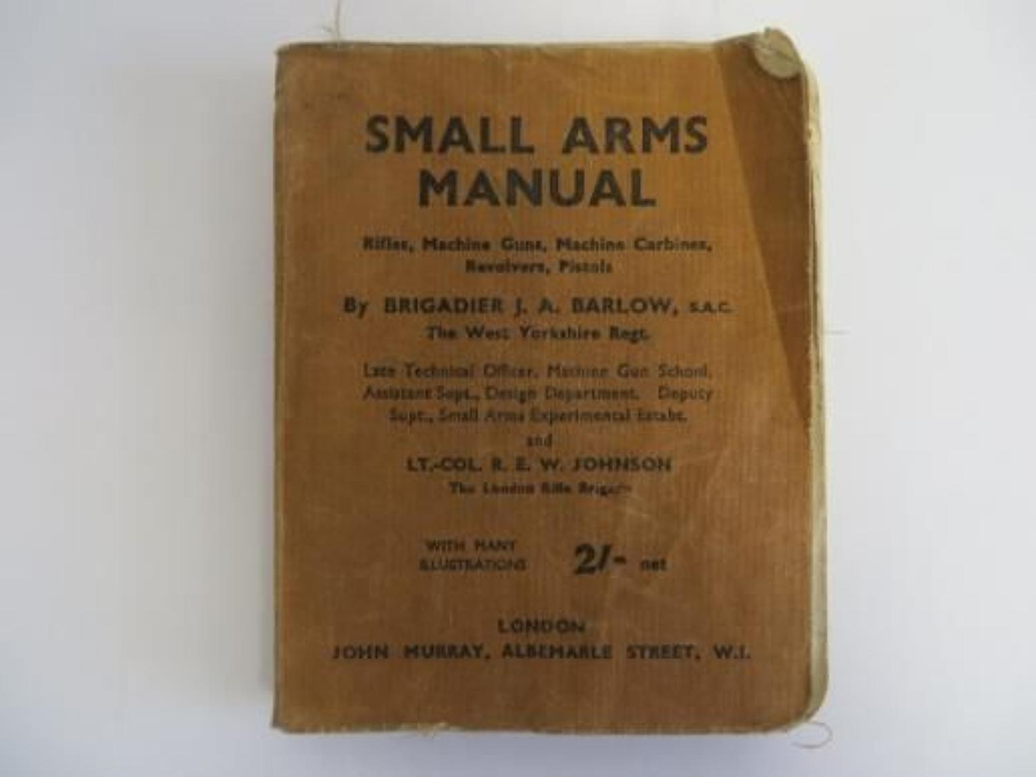 WW2 Small Arms Manual