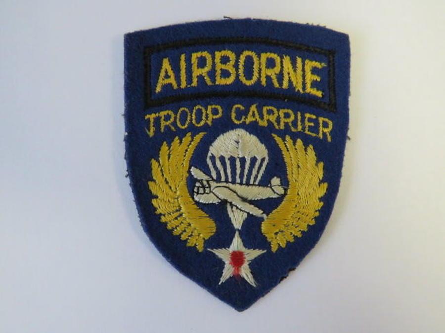 Airborne Troop Carrier Formation Badge