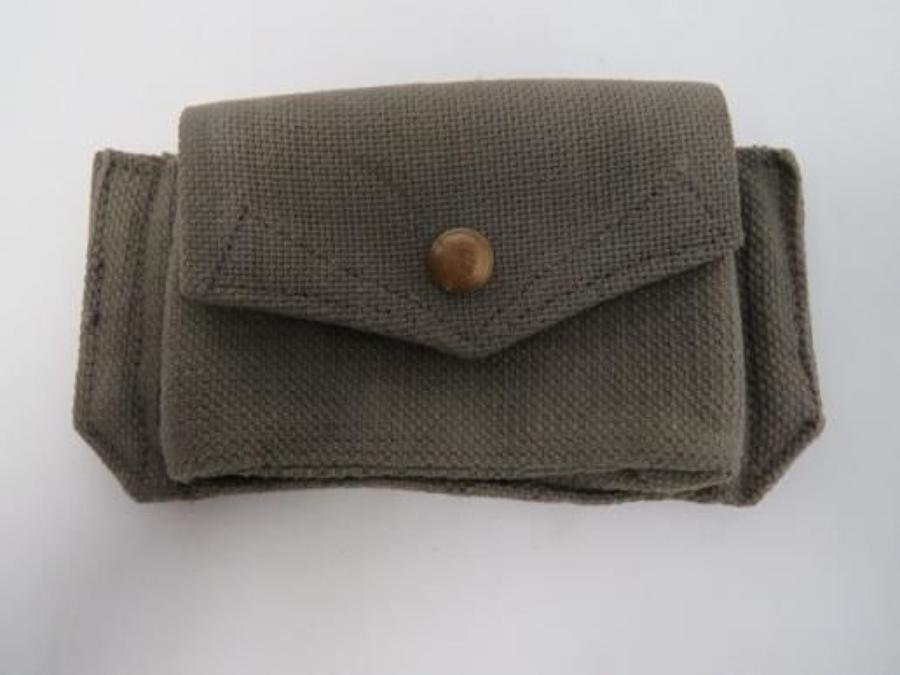 1940 Dated Royal Air Force Revolver Ammunition Pouch