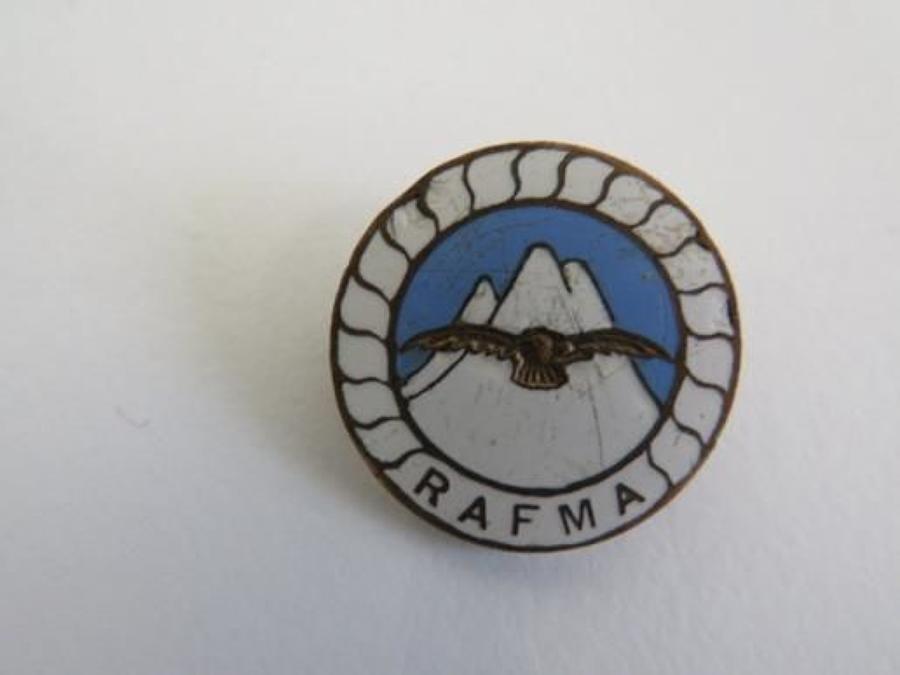 R.A.F.M.A Lapel Badge