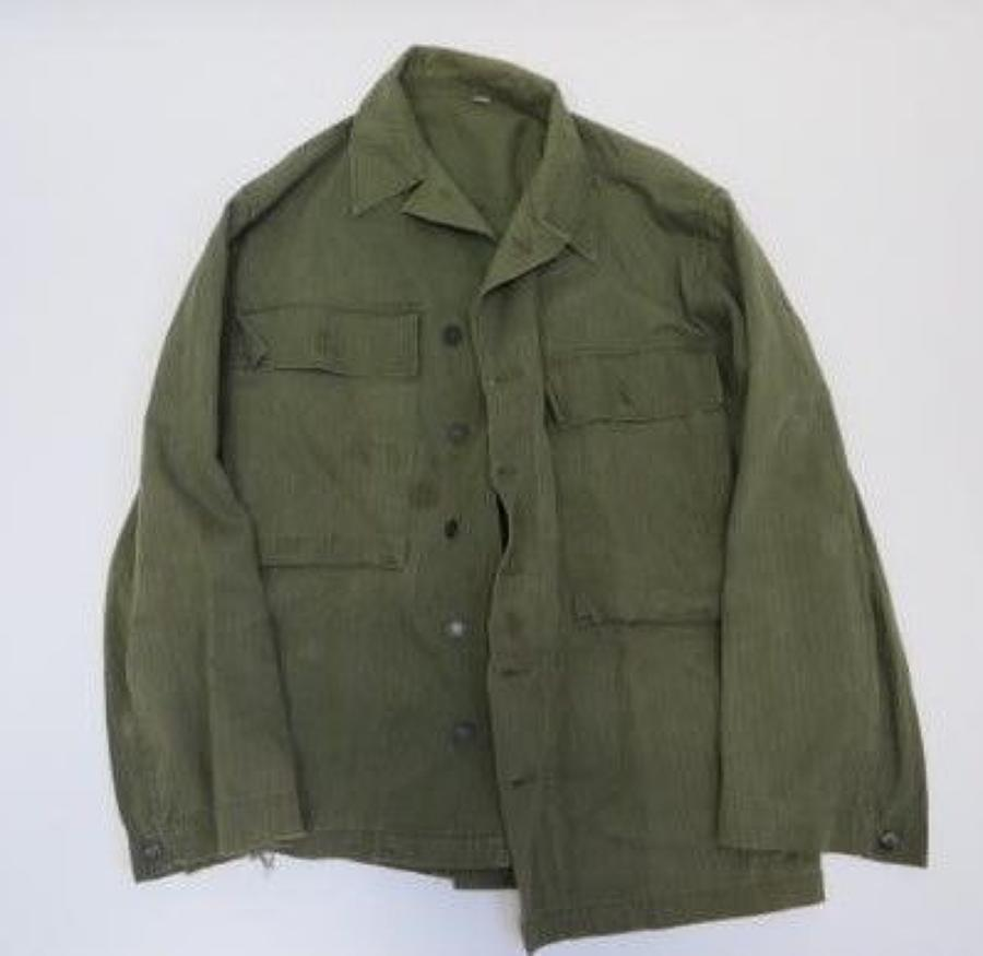 WW2 American Denim Working Dress Tunic