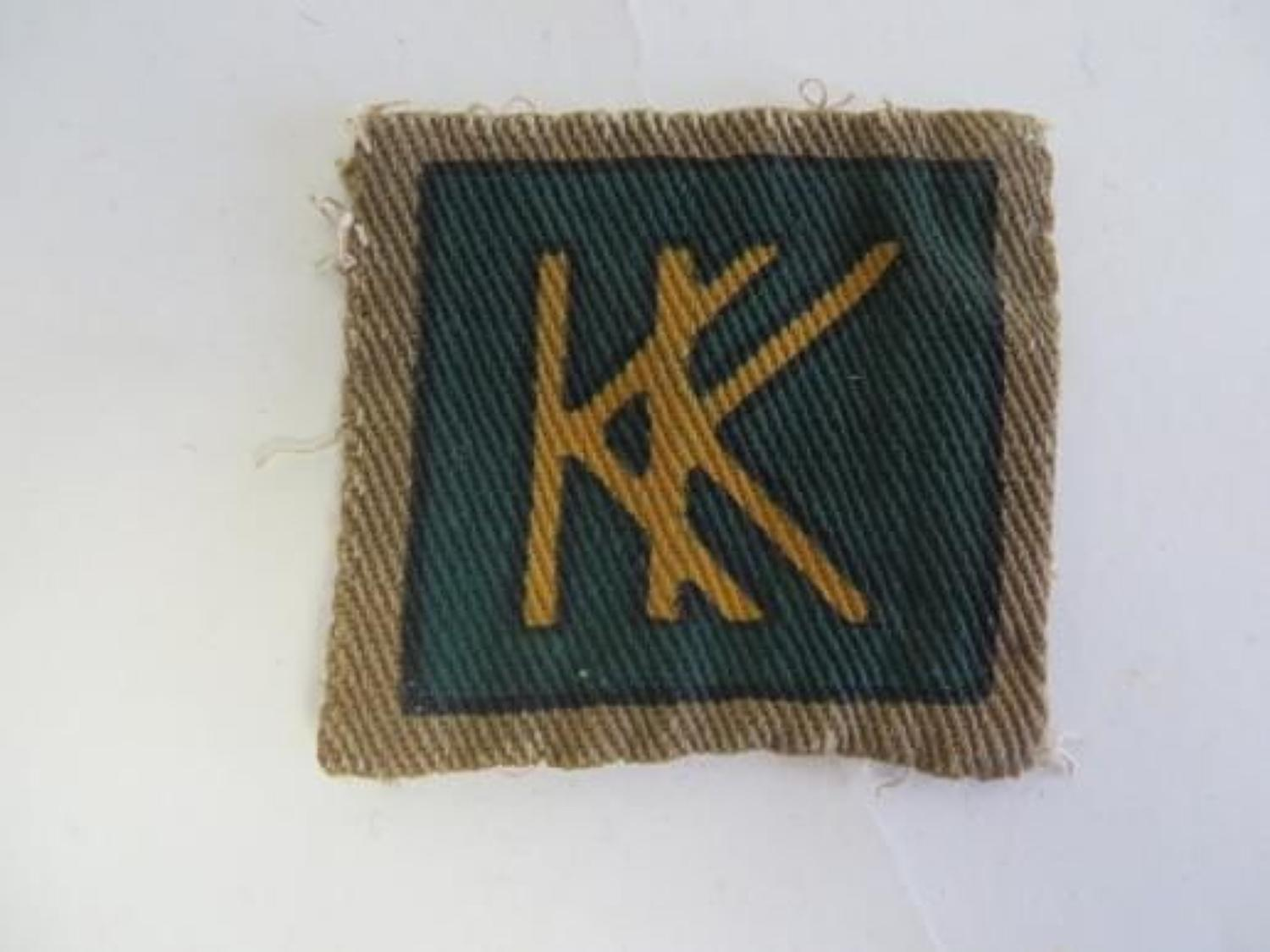 49th Independent Infantry Brigade Formation badge
