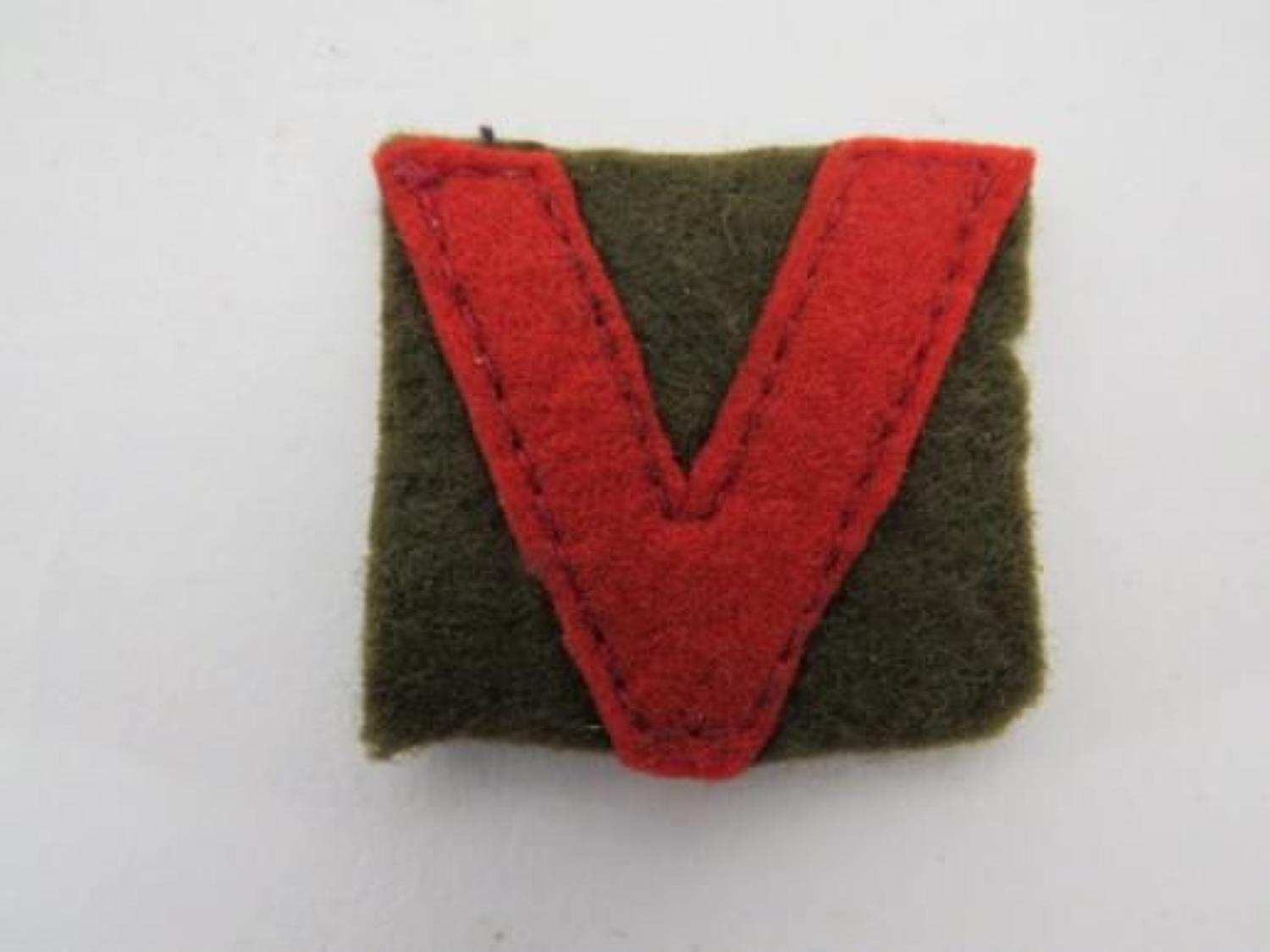 Northumberland Fusiliers Formation Badge
