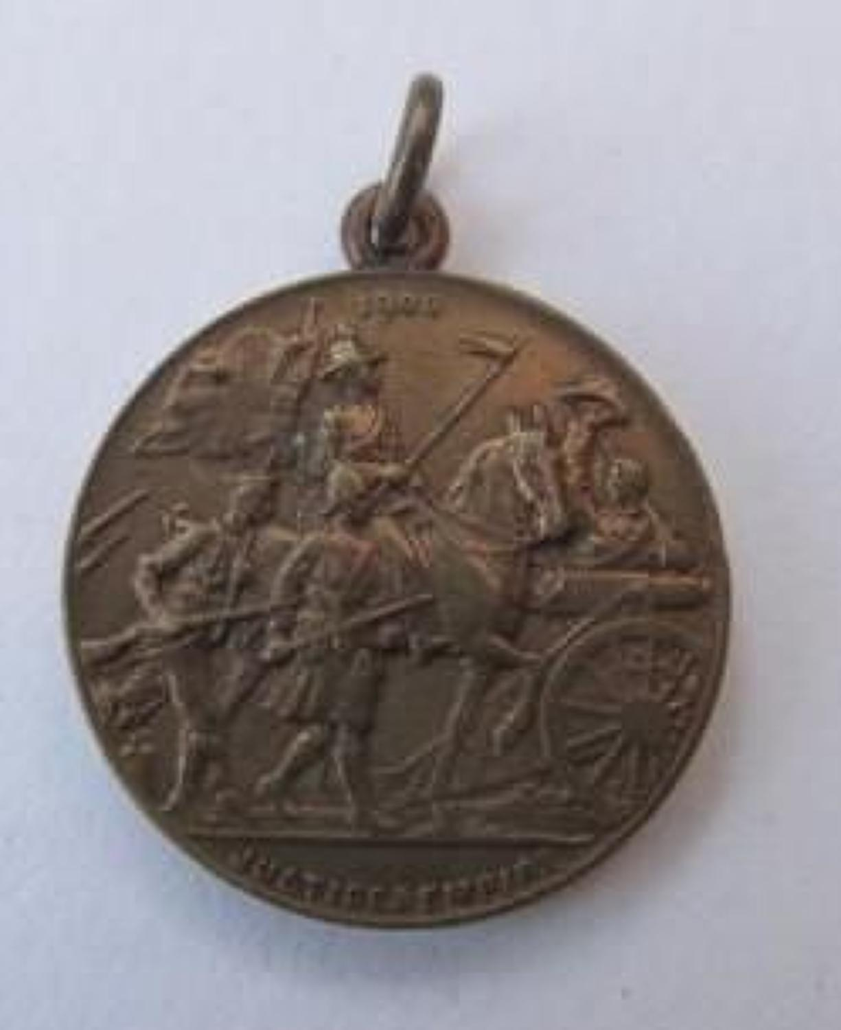 Lord Roberts Medallion 1900