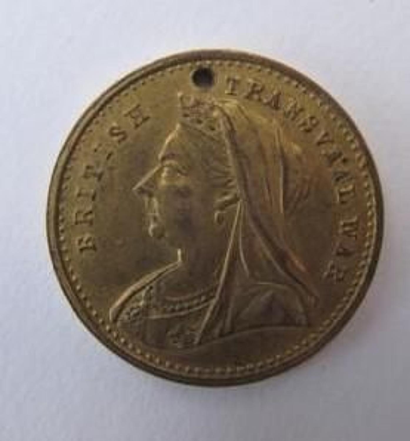 Transvaal War New Zealand Forces 1900 Medallion