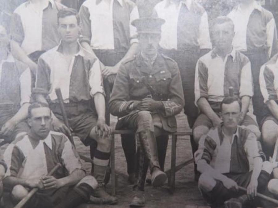 21st Officer Cadet Battalion Hockey Team 1917 Photo