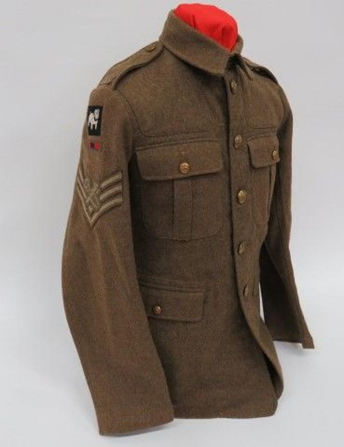 WW 2 1922 Pattern R.A.O.C Armourers Service Dress Tunic