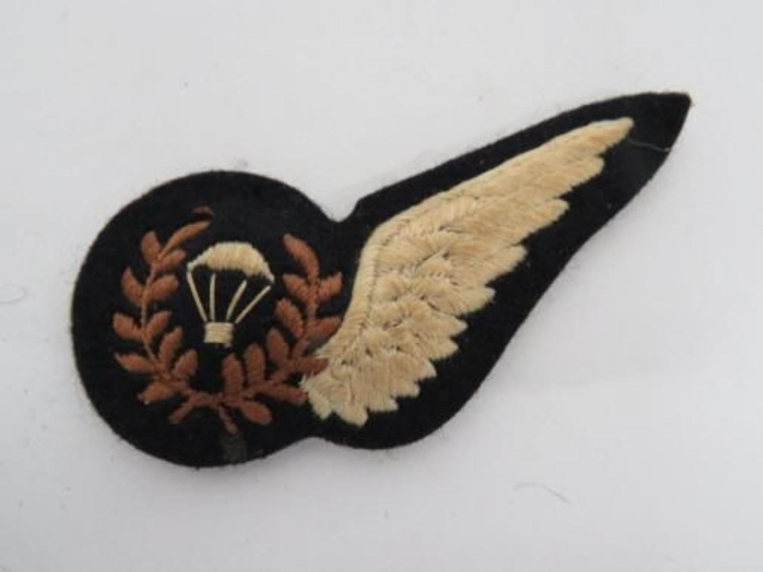 Royal Air Force Parachute Instructor Half wing