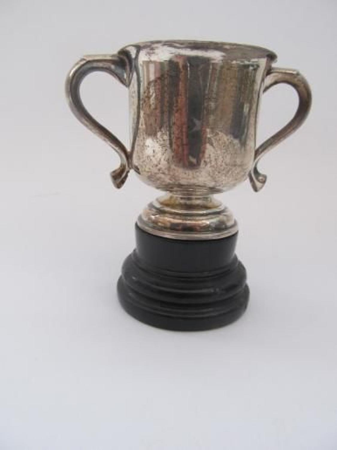 Silver Hallmarked Post 1901 Sherwood Forester's Cup