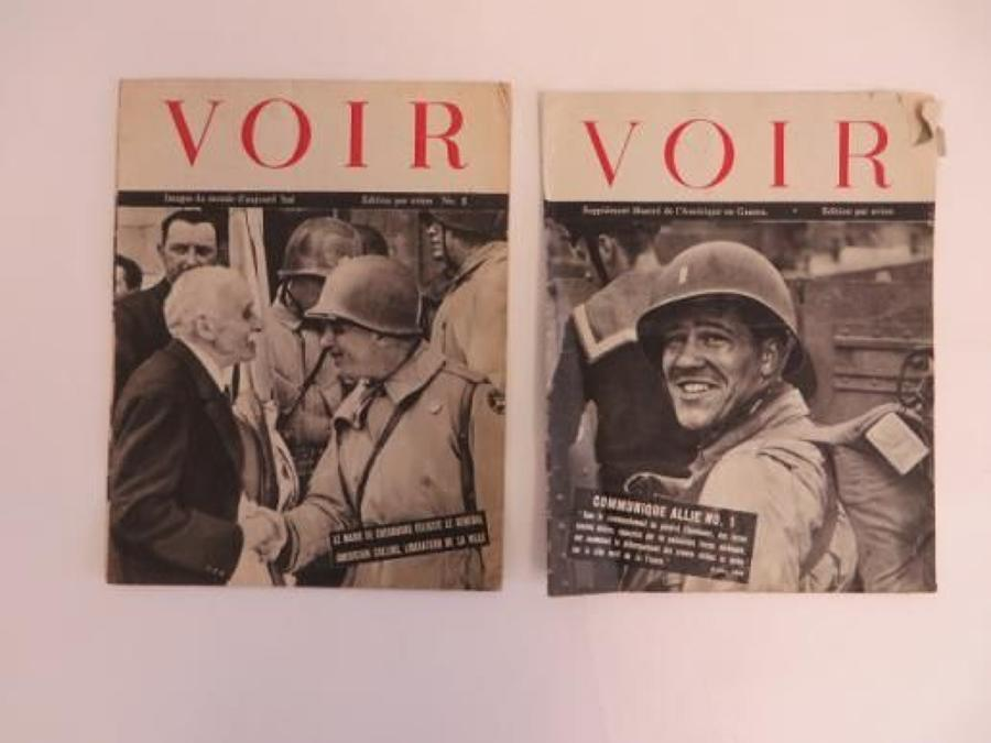Two VOIR Post Invasion Magazines