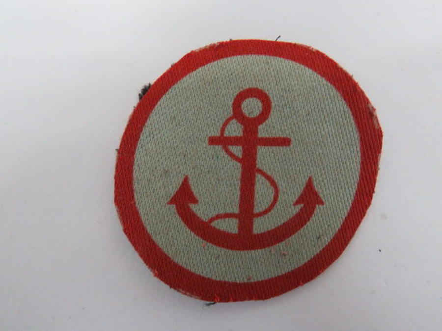 Beach Groups Formation Badge