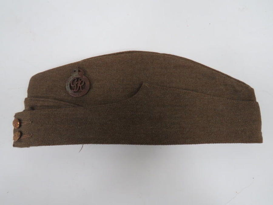 Rare WW 2 National Defence Company Field Service Cap