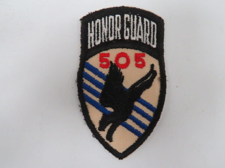 505 Regiment 82nd Airborne Division Formation Badge