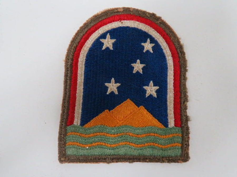 WW 2 American South Atlantic Theatre Formation Badge