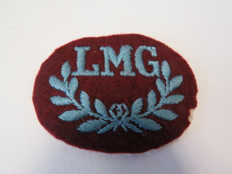 WW 2 Airborne L.M.G Qualification Badge
