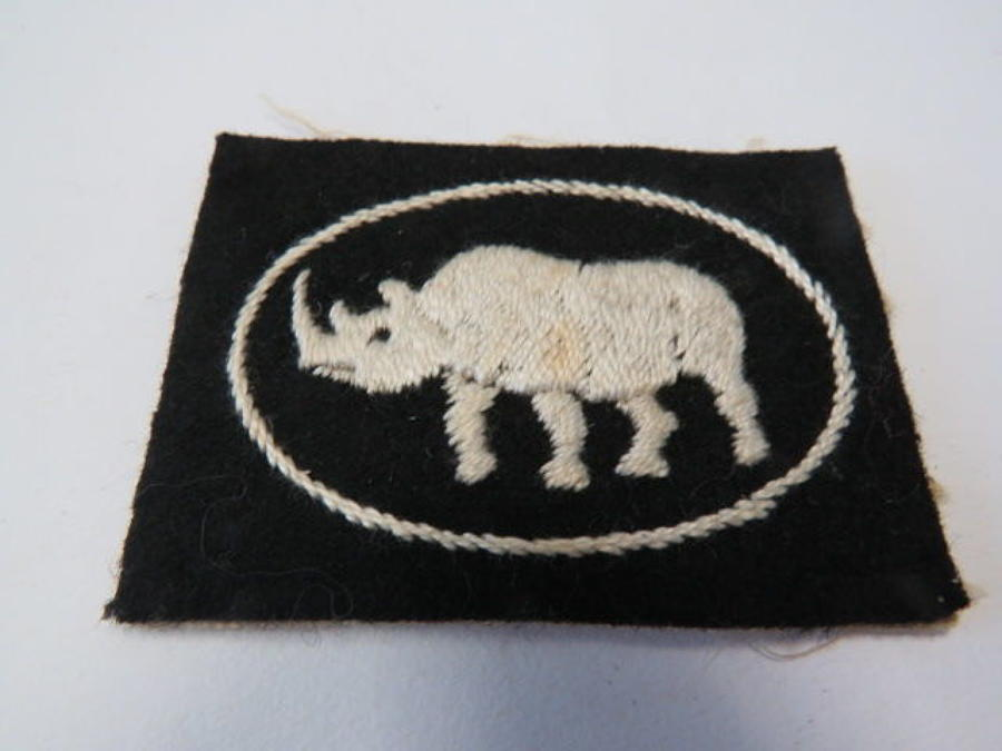 10th Armoured Division/25th Armoured Brigade Formation Badge