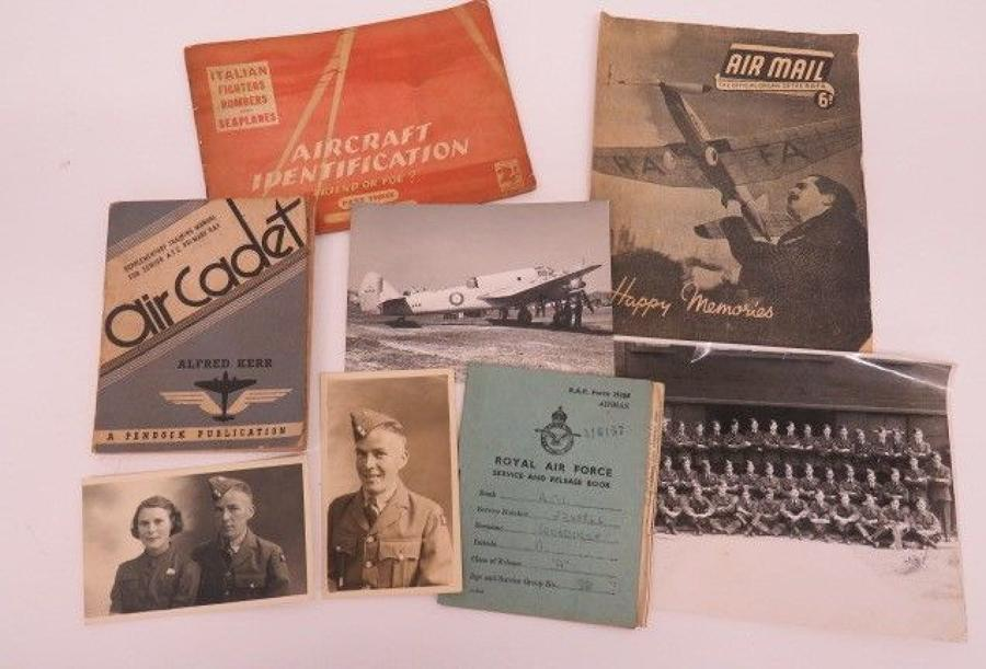 Good Selection of R.A.F Paperwork and Photographs