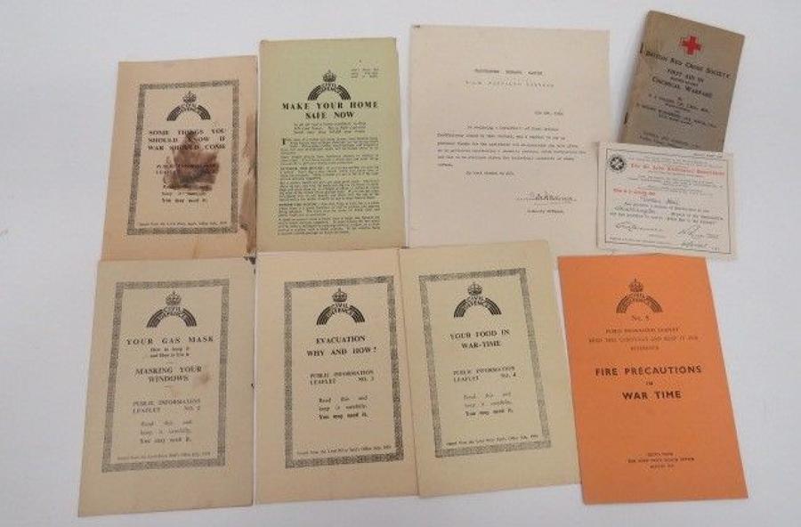 Featherstone Ordnance Factory Paperwork