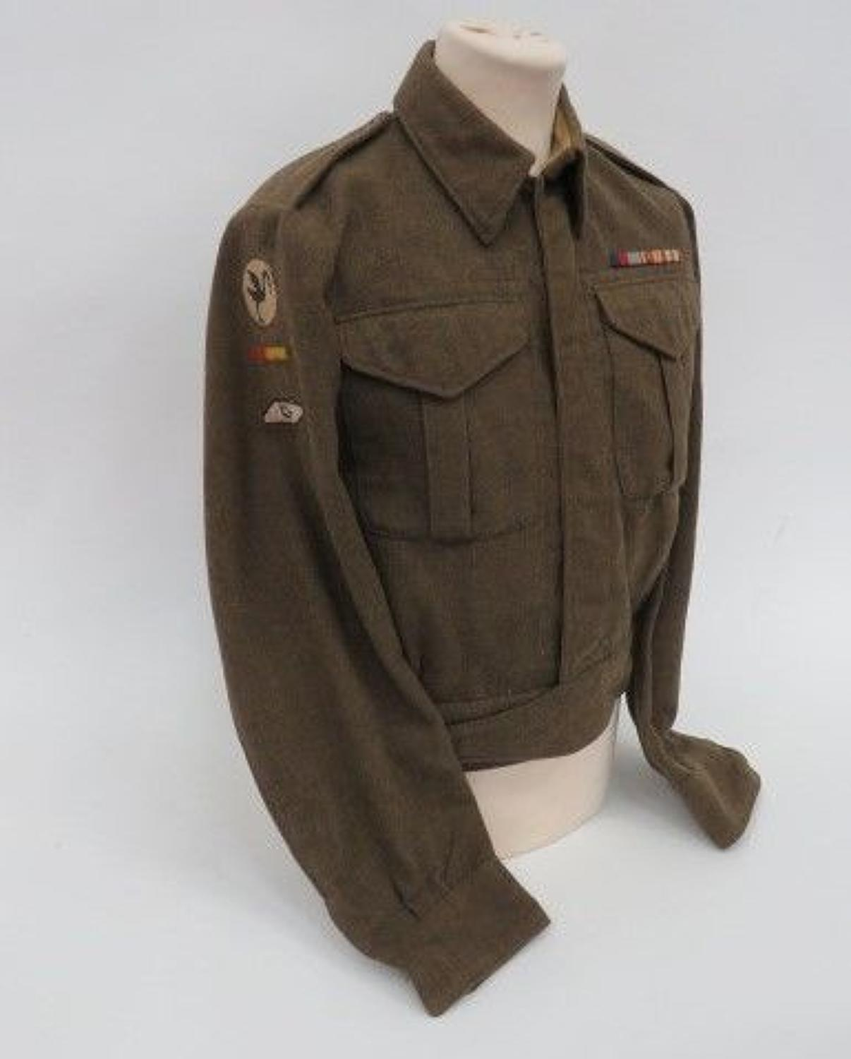 23rd Armoured Brigade Tank Crew Battle Dress Jacket