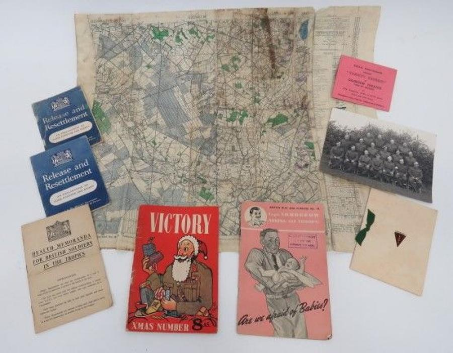 Good selection of WW 2 Paperwork