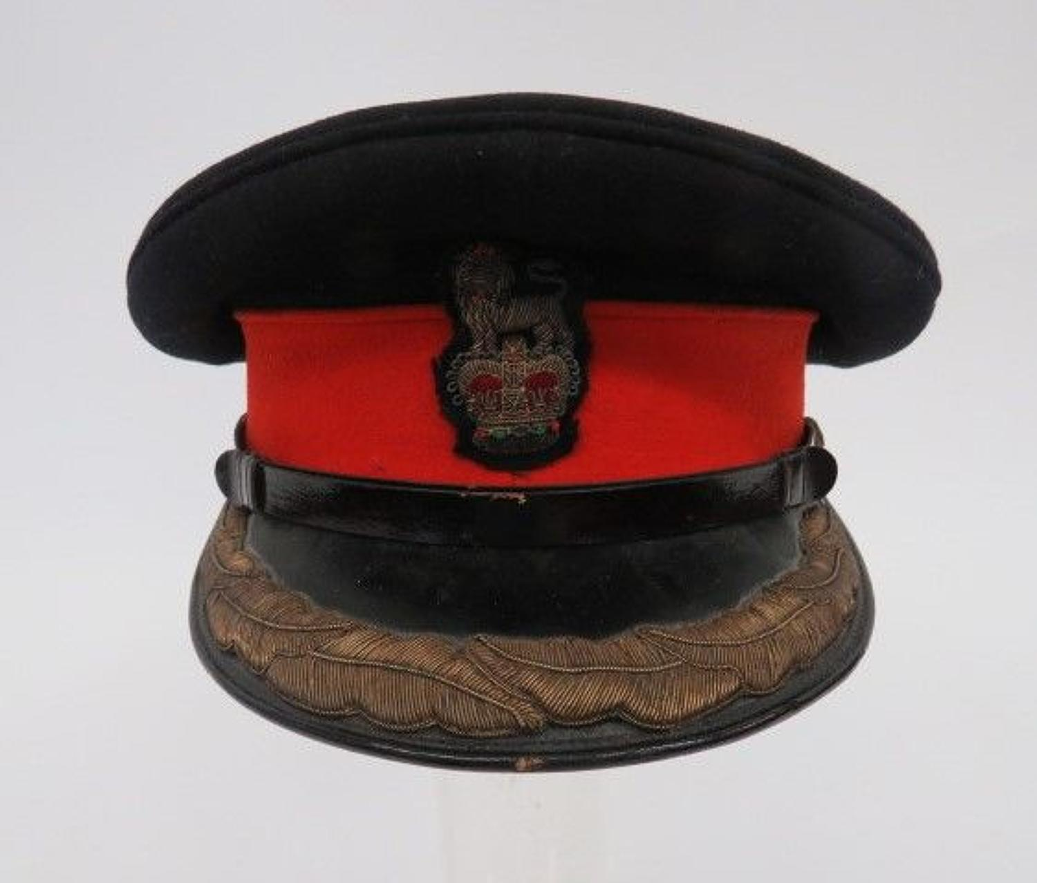 Post 1953 Brigadier Staff Officers Dress Cap