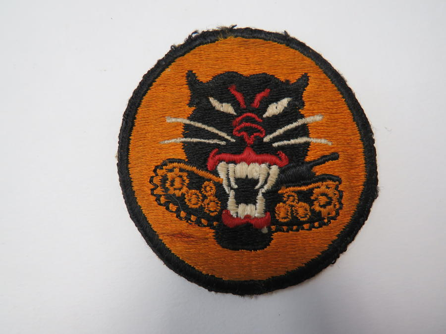 WW 2 American Tank Destroyer Formation Badge