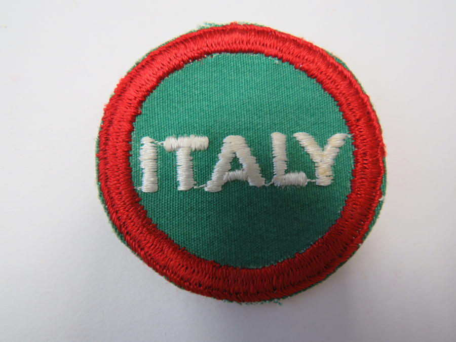 WW 2 Italian ex P.O.W Serving with the Allies Cap Flash