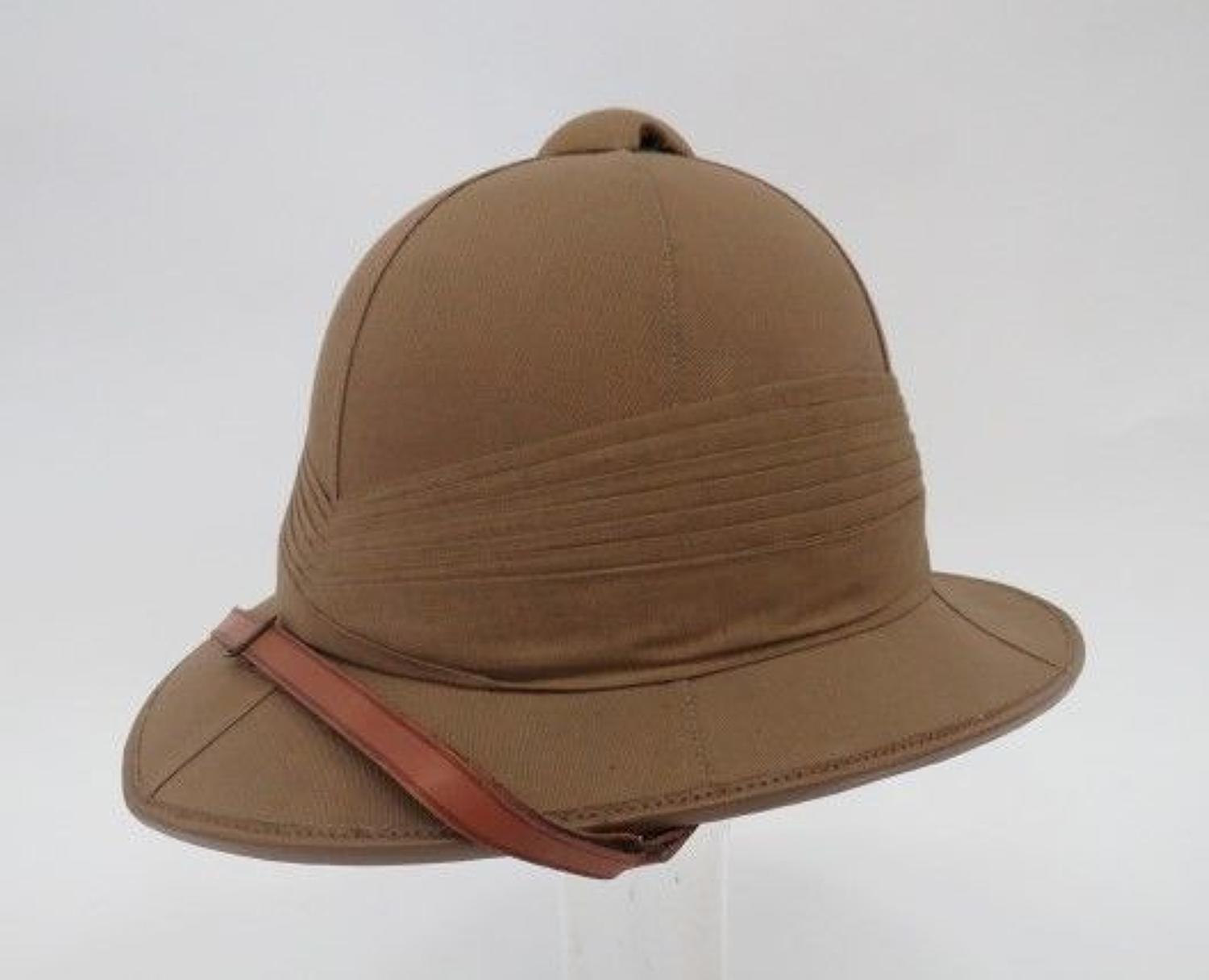 Unworn Interwar Officers Pith Helmet