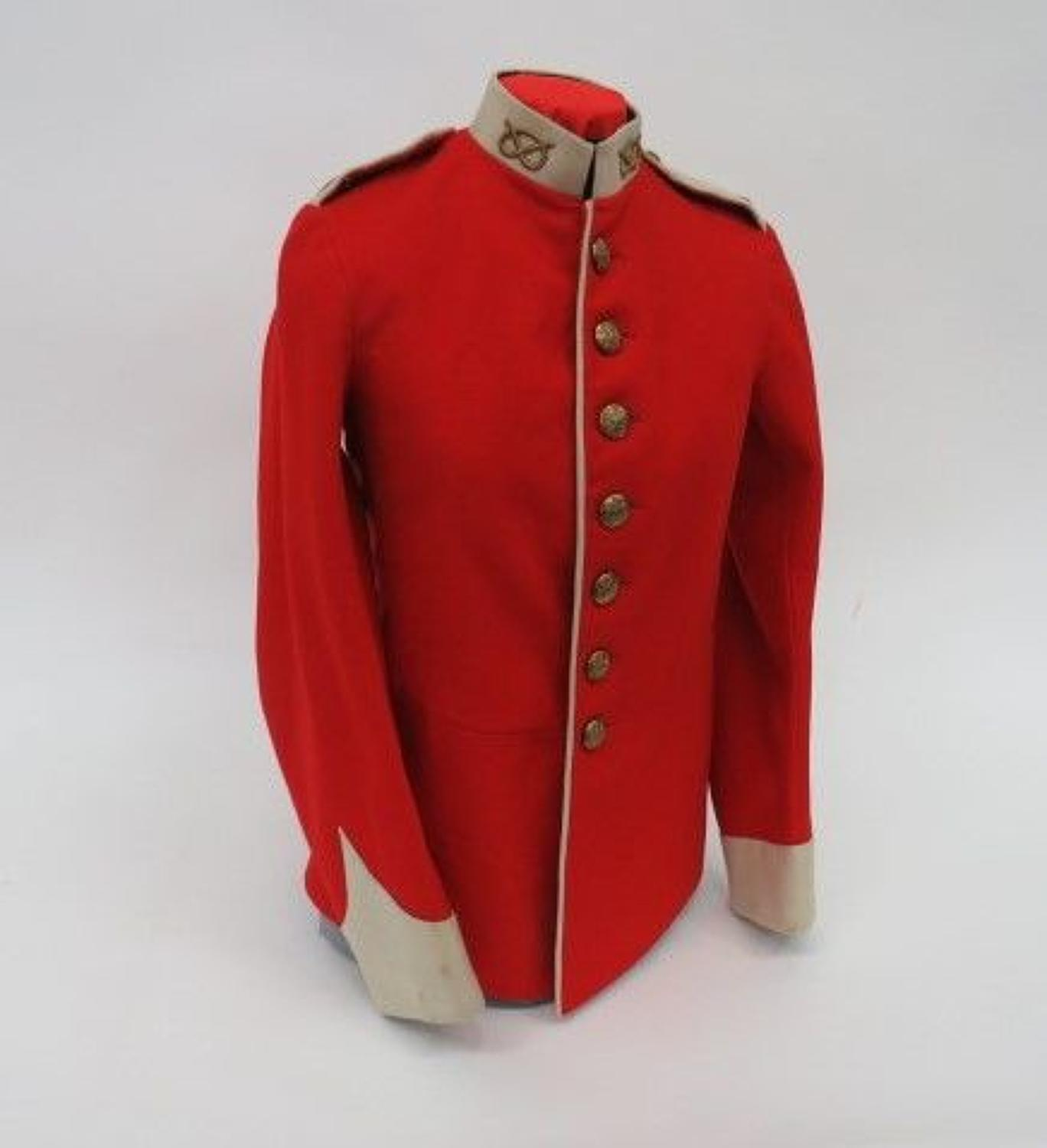 Pre WW 1 South Staffordshire O.Rs Dress Tunic