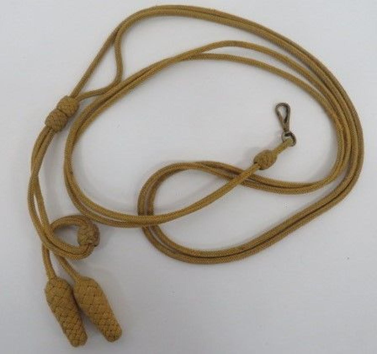 Hussars Busby Cap Cord