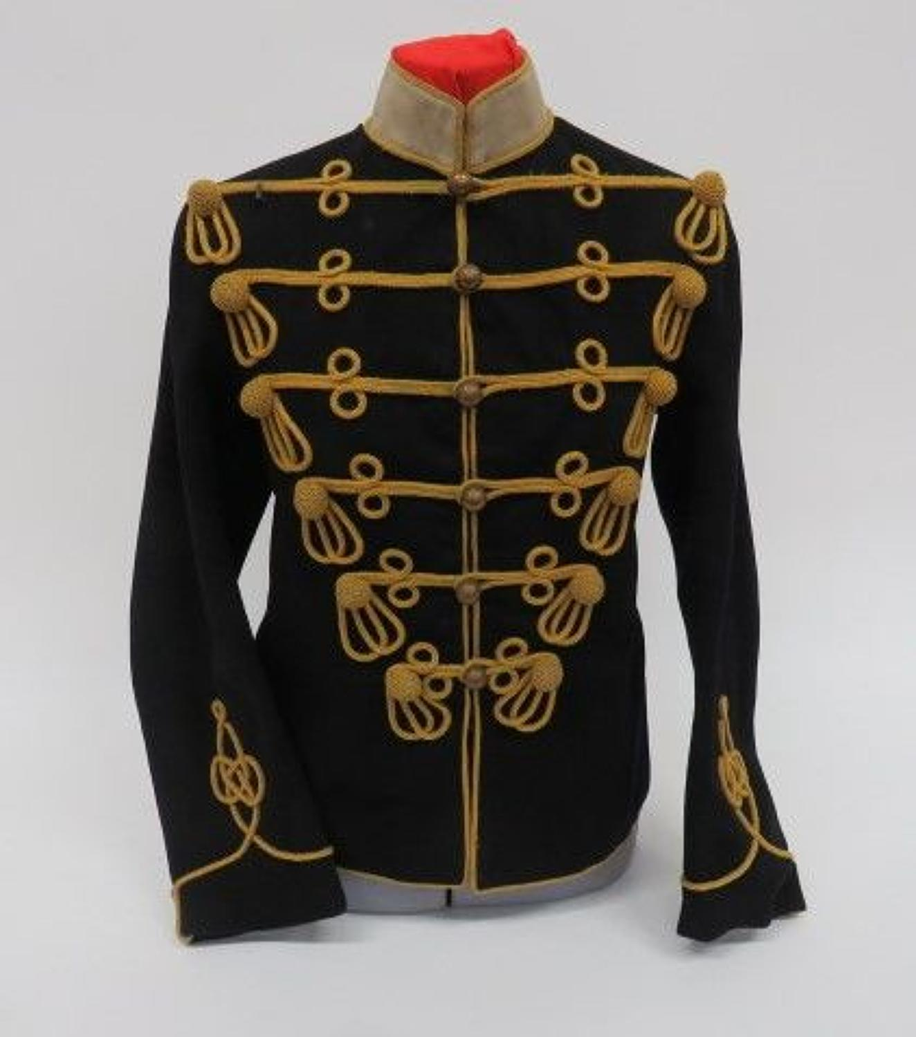 Attributed Pre WW 1 ,13th Hussars Cavalry Dress Tunic