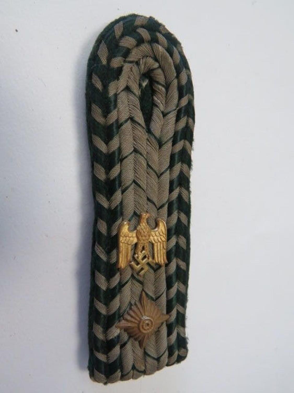 WW 2 German Shoulder Strap