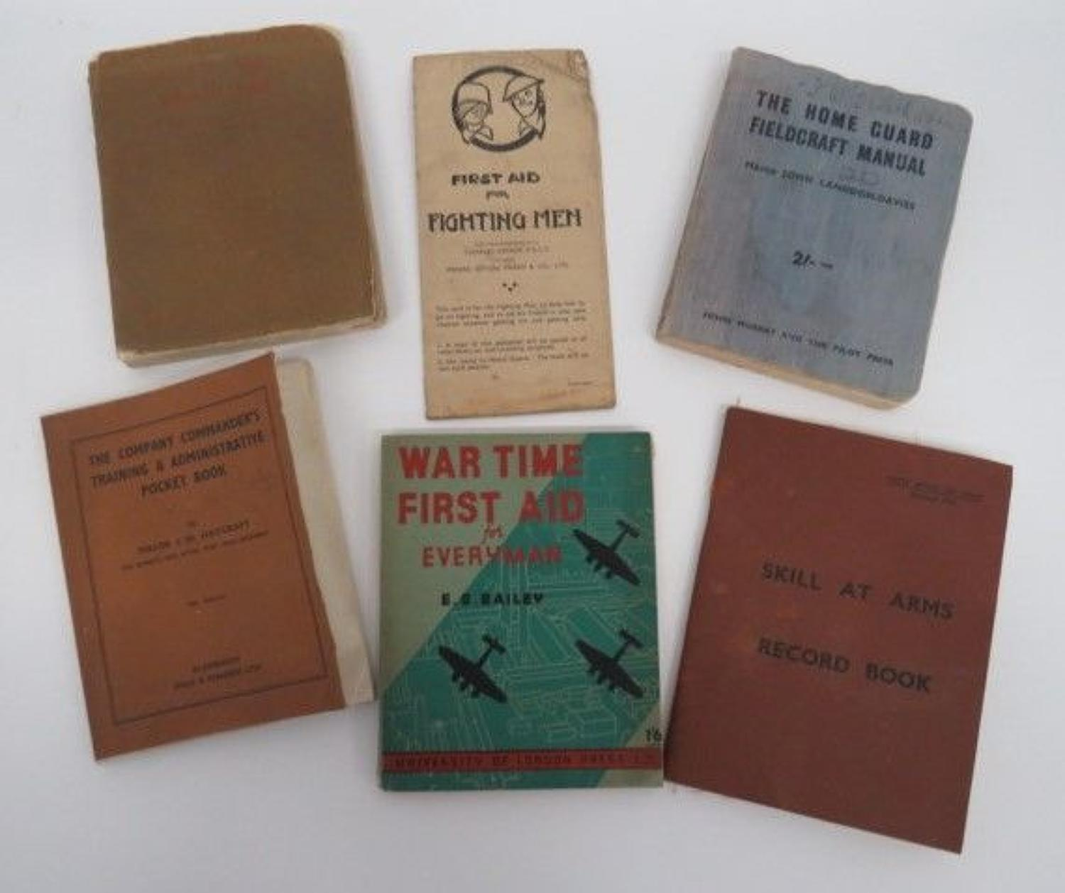 Good Collection of WW 2 Booklets