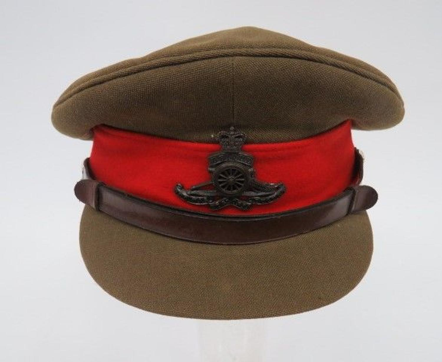 Post 1953 Royal Artillery Staff Officers Cap