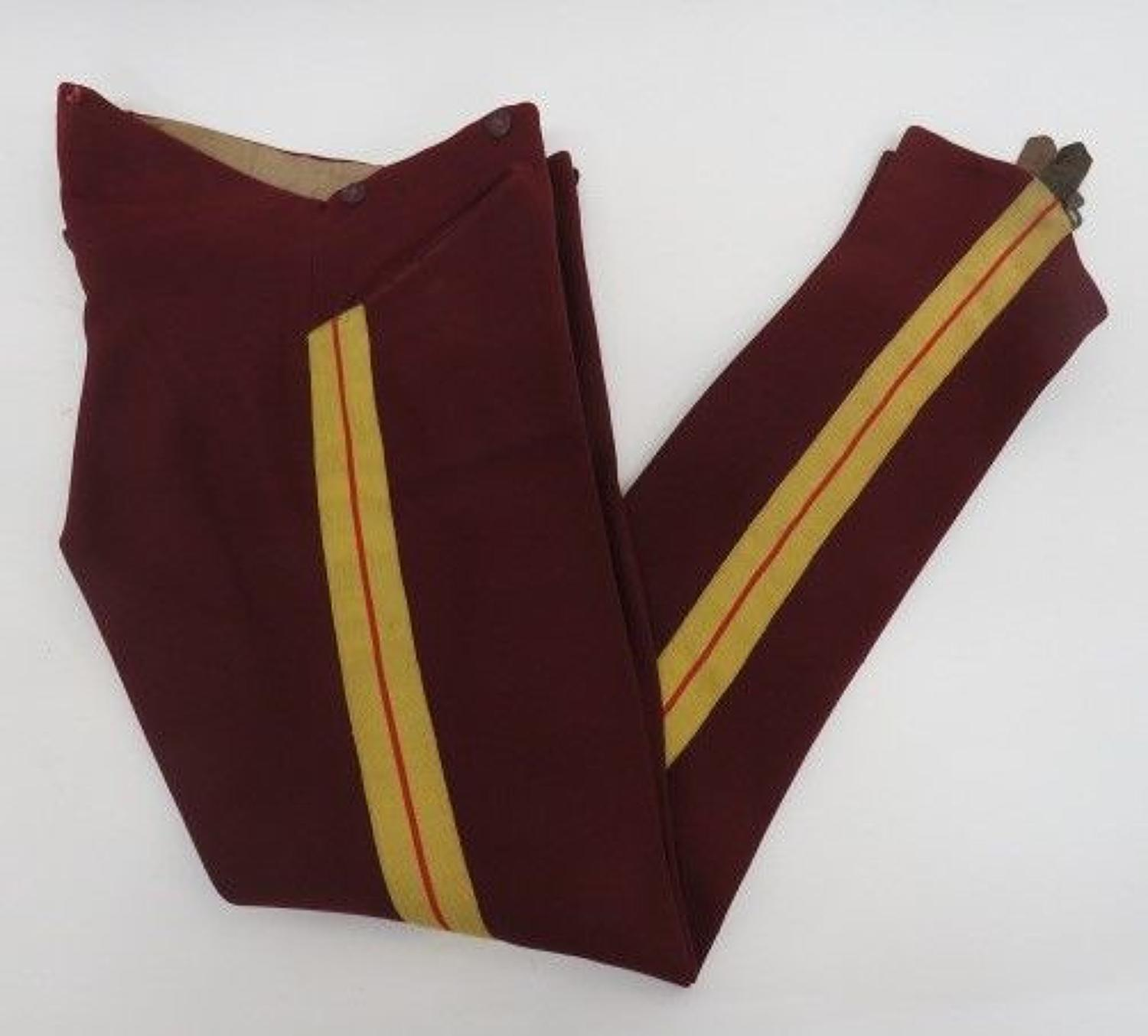 11th Hussars Dress Overall Trousers