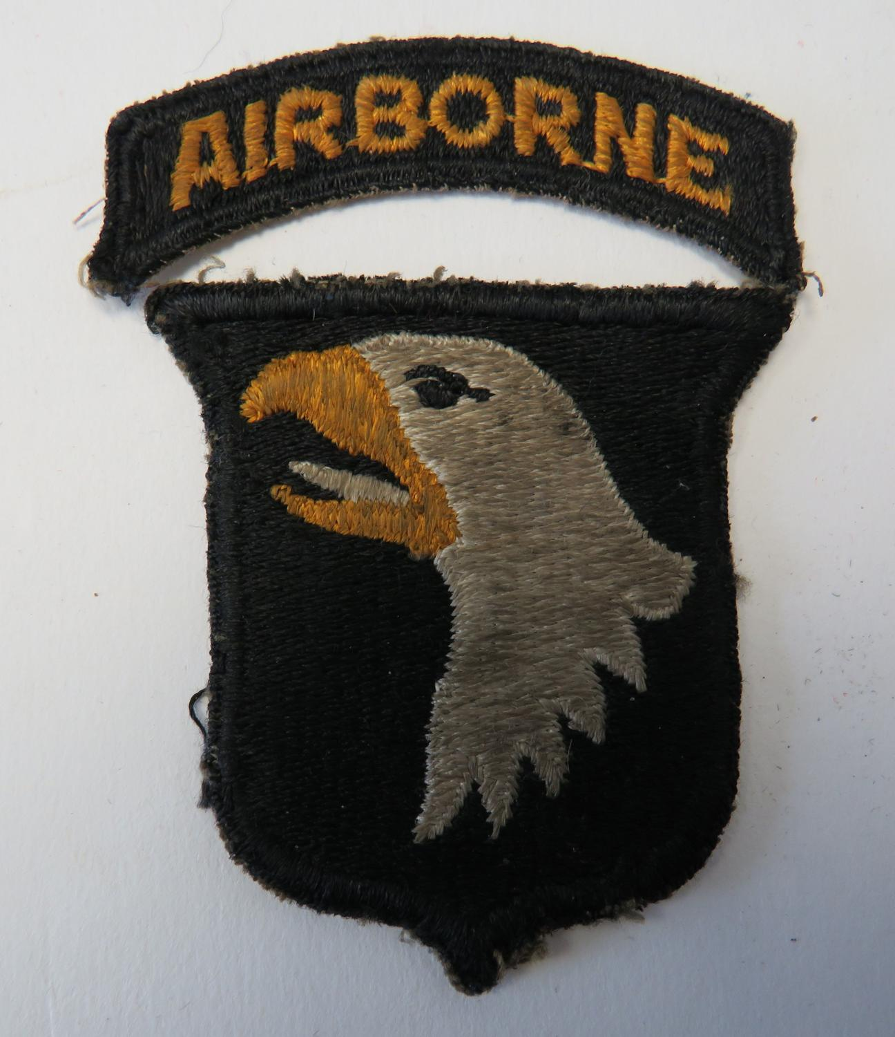 WW 2 -101st American Airborne Formation Badge