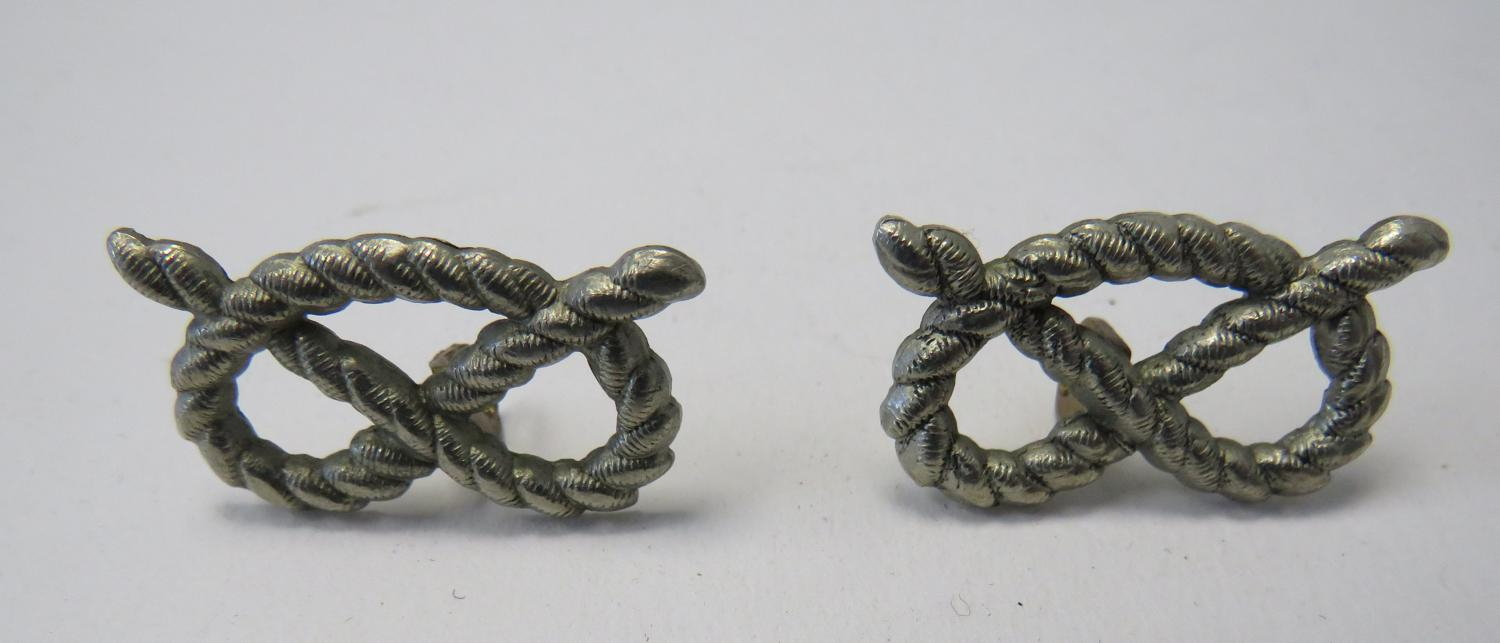 Pair of South Staffordshire Regiment Collar Badges
