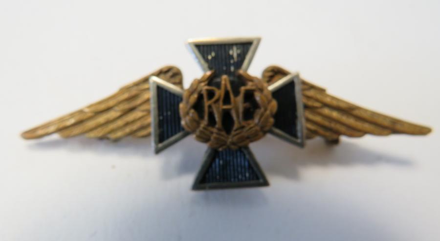 R.A.F Padre Badge