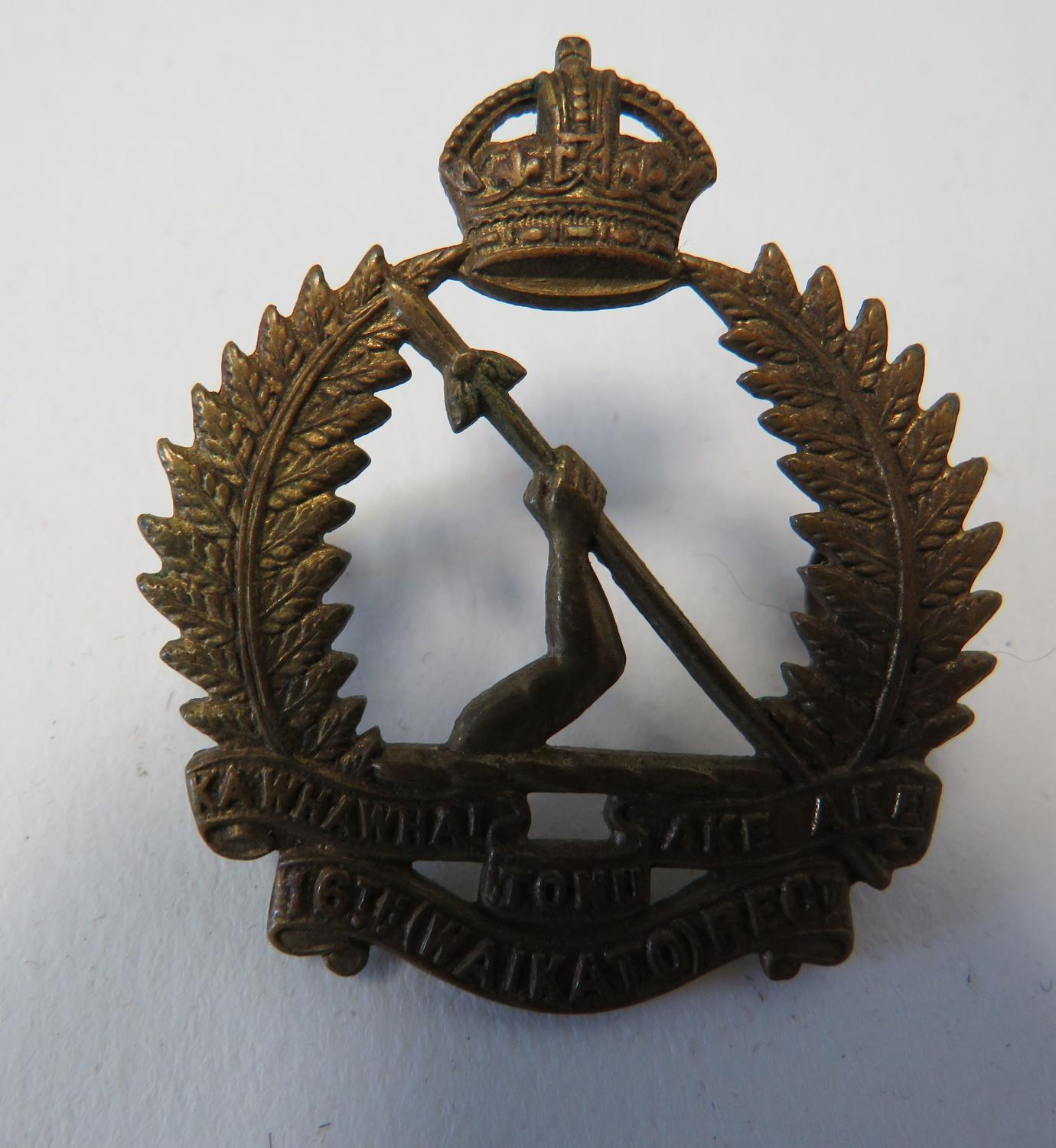 16th New Zealand Infantry Cap Badge