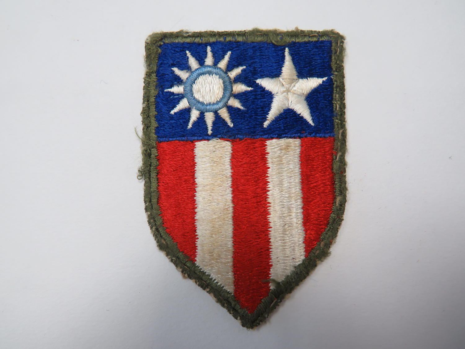 China-Burma-India Theatre Formation Badge