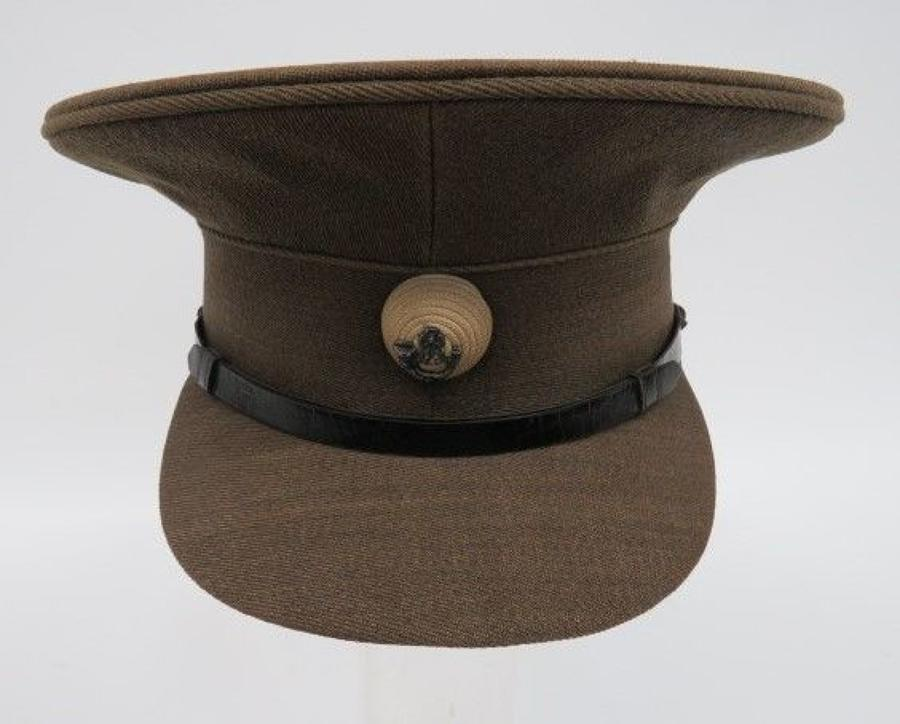 WW 1 /Early Interwar 6th Battalion Kings Liverpool Officers Cap