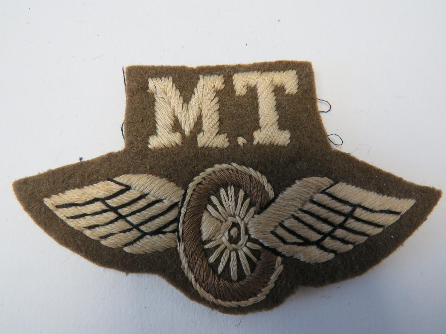 Motor Transport Qualification Badge