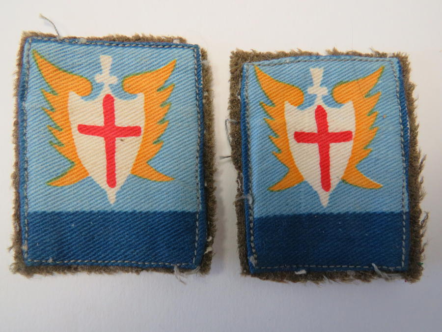Pair of Allied Forces South East Asia Formation Badges