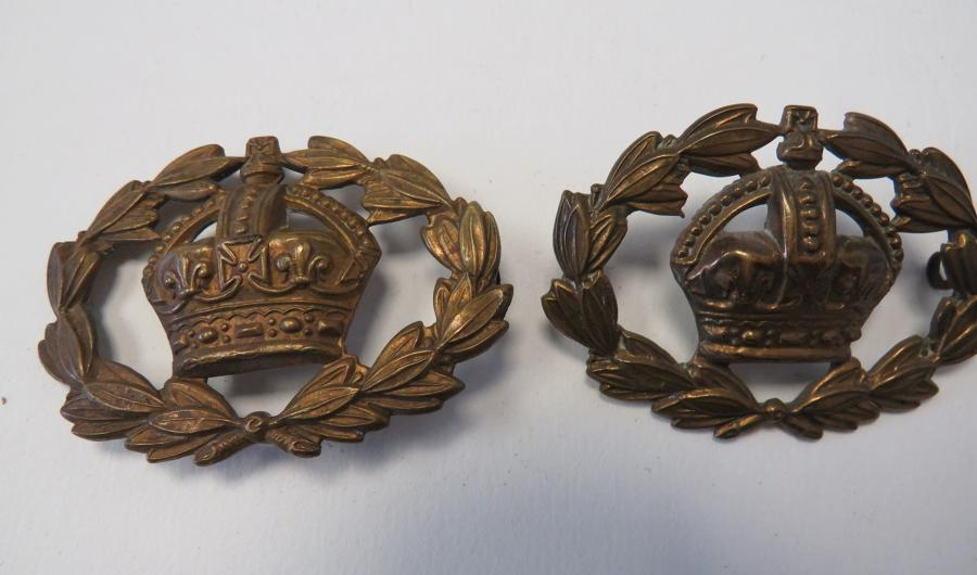 Pair of Pre 1953 Warrant Officer Cuff Badges